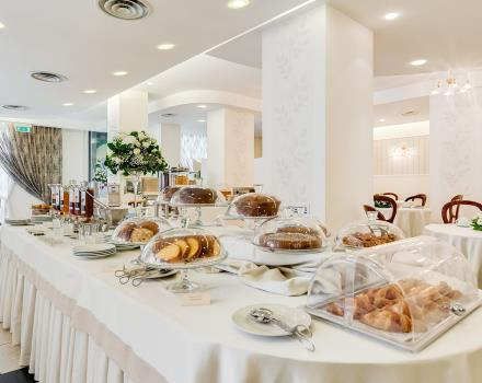 Check out the breakfast at the Hotel 4-star Europa Stabia, Castellammare di Stabia