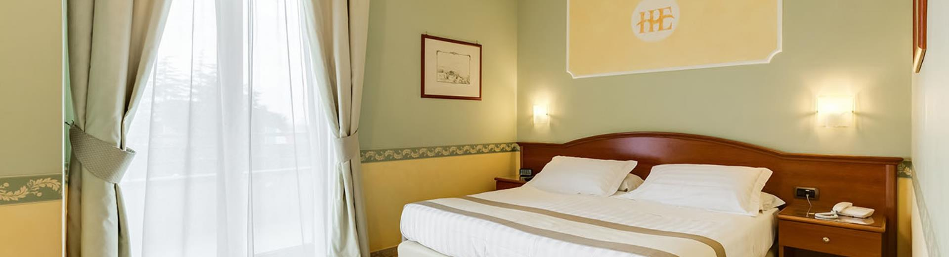 Discover the rooms of 4-star Europa Stabia Hotel in Castellammare di Stabia