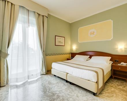 Discover the rooms of the 4 star Europa Stabia Hotel, Castellammare di Stabia