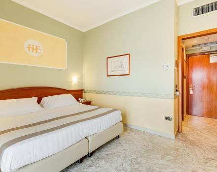 Discover the rooms of the 4 star Europa Stabia Hotel , Castellammare di Stabia