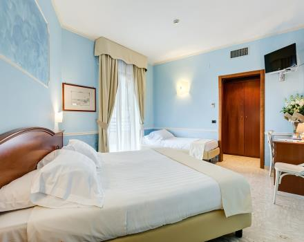 Discover the rooms of the 4 star Hotel Europe Stabia, Castellammare di Stabia