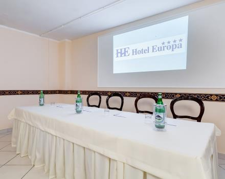 Discover the meeting services of Europa Stabia Hotel, 4 star in Castellammare di Stabia